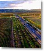 Livermore Wine Country--las Positas Winery Metal Print