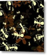 Lives Of Ants Metal Print