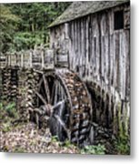 Cable Mill Gristmill - Great Smoky Mountains National Park Metal Print