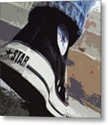 Living In Converse - Hurries In Converse Metal Print