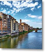 Living Next To The Arno River Metal Print