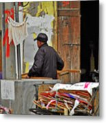 Living The Old Shanghai Life Metal Print