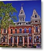 Livingston County Courthouse 1 Metal Print