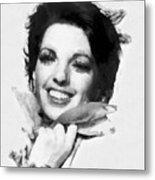 Liza Minnelli By John Springfield Metal Print