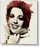 Liza Minnelli Metal Print