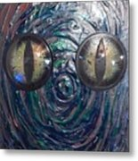 Lizard Man Metal Print
