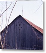 Lloyd Shanks Barn1 Metal Print