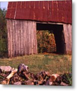 Lloyd Shanks Barn2 Metal Print