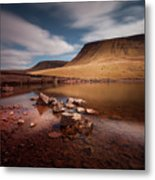Llyn Y Fan Fach Black Mountain Metal Print