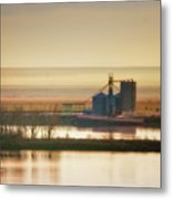 Loading Grain Metal Print