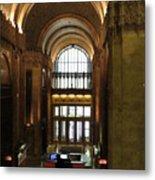 Lobby Of Woolworth Building Metal Print