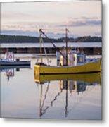 Lobster Boat Jonesport, Maine  Metal Print