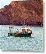 Lobster Fishing Boat Metal Print