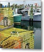 Lobster Traps In Galilee Metal Print
