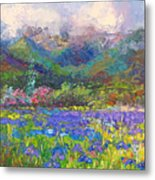 Local Color Metal Print by Talya Johnson