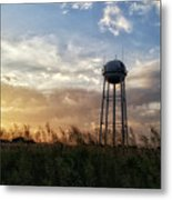 Local Water Tower  Metal Print
