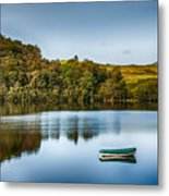 Loch Awe Reflections Metal Print