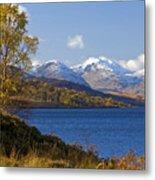 Loch Katrine And The Arrochar Alps Metal Print