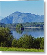 Loch Leanne Painting Killarney Ireland Metal Print