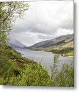 Loch Levern Metal Print