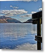 Loch Lomond And The Ben Metal Print