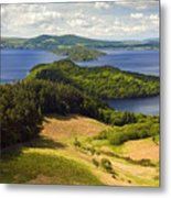 Loch Lomond From Conic Hill Metal Print