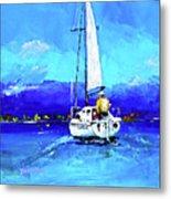Loch Lomond Sail Metal Print