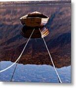 Loch Maree Boat Metal Print