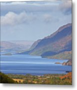 Loch Maree In The Highlands Of Scotland Metal Print