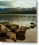 Loch Morlich And The Cairn Gorms Metal Print