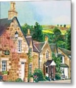 Loch Tummel Innn - Scotland Metal Print