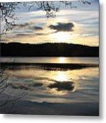 Loch Venacher Sunset Metal Print