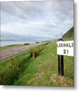 Lochaline This Way Metal Print