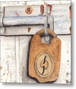 Lock And Latch Metal Print