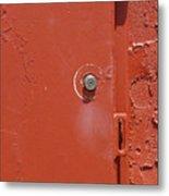 Lock Box Metal Print