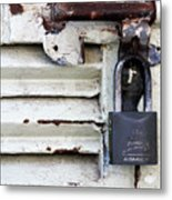 Lock City Metal Print