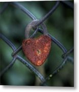 Lock Of Love Metal Print