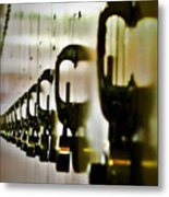 Lock Up Metal Print