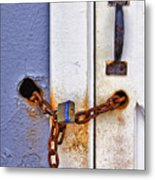Locked Out Metal Print