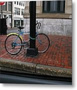Locked Up In The City Metal Print