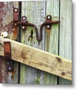 Locked Up Tight Metal Print