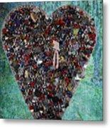Locket Heart-3 Metal Print