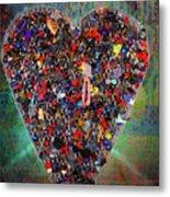 Locket Heart-4 Metal Print