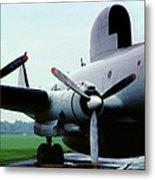 Lockheed Ec-121d Warning Star, Early Warning Aircraft Metal Print