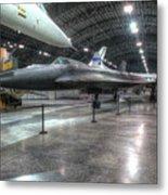 Lockheed Yf-12a Metal Print