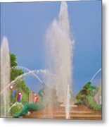 Logan Circle Fountain 2 Metal Print