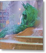 Logan Circle Fountain 5 Metal Print