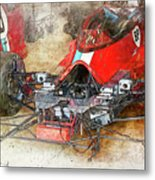 Lola In The Pits Metal Print