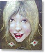 Lolita Died Metal Print