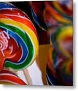 Lollipops Metal Print